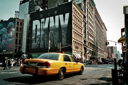 DKNY at 600 Houston Street, R.I.P.