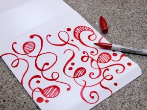 Sharpie Wrapping Paper!
