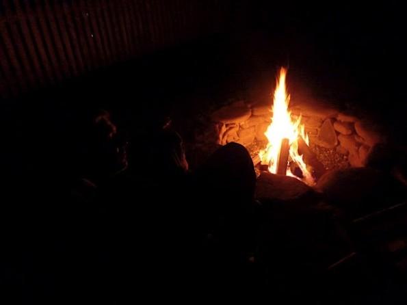 firepit fire